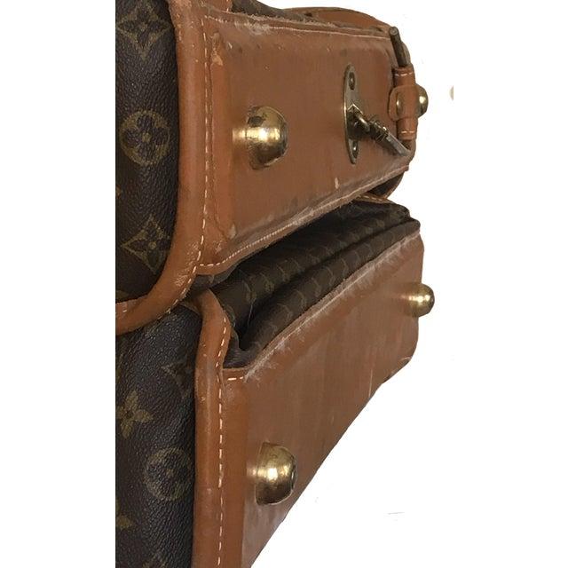 1970s 1970s Vintage Louis Vuitton Garment Bag For Sale - Image 5 of 13