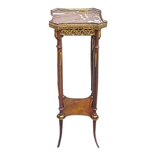 Antique Empire-Style Ormolu Pedestal For Sale