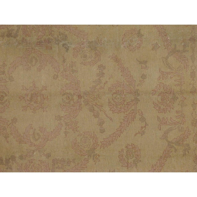 Mid-20th century, vintage Turkish Borlou carpet. Hand-Woven and has been professionally washed.