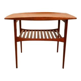 Modern Tove Edvard Kindt Larsen Model Fd510 Teak Table For Sale