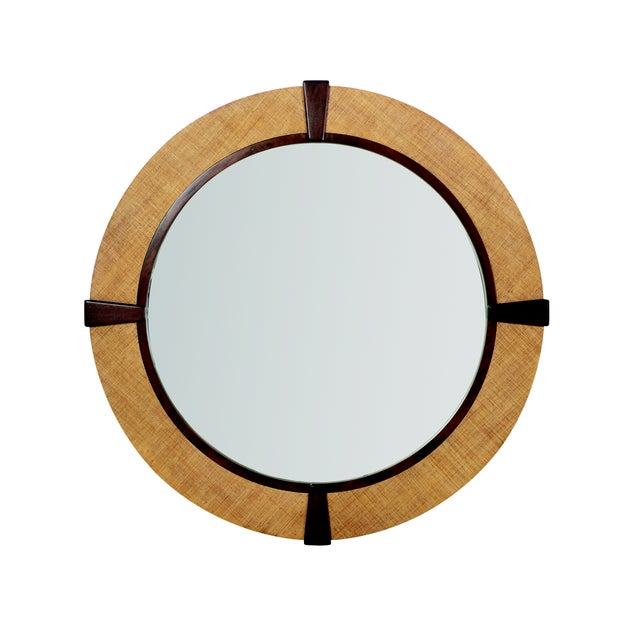 "Contemporary Century Furniture St. Simons 60"" Mirror, Sand For Sale - Image 3 of 3"