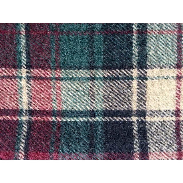 Vintage Faribault Plaid Pak a Robe Wool Blankets - Set of 5 - Image 6 of 8