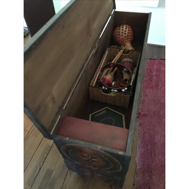 Imported Moroccan Trunk - Image 6 of 6