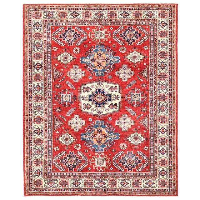 Pasargad Kazak Wool Rug - 9′1″ × 11′5″ For Sale