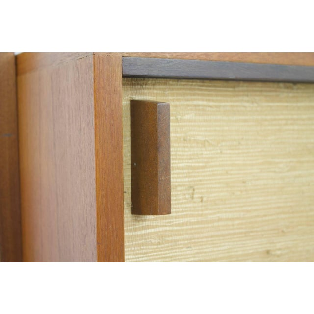 Dieter Waeckerlin Shelf System Wall Unit in Teak Wood, Behr Germany, 1950s For Sale - Image 6 of 11