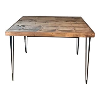 Reclaimed Hair Pin Leg Dining Table