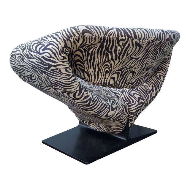 Pierre Paulin for Artifort Ribbon Chair For Sale In San Francisco - Image 6 of 9