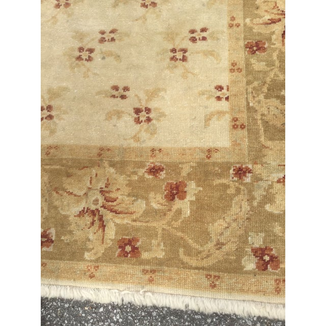 Turkish Oushak Rug - 4′3″ × 6′ - Image 3 of 5
