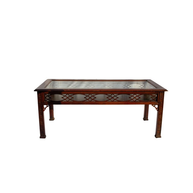 Kindel Glass Display/Shadowbox Coffee Table For Sale - Image 11 of 11