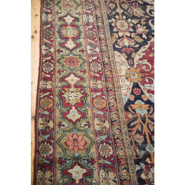 """Antique Lavar Kerman Carpet - 8'6"""" X 11'10"""" For Sale - Image 9 of 10"""