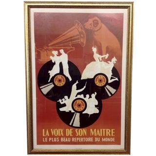 La Voix de son Maître French RCA Poster