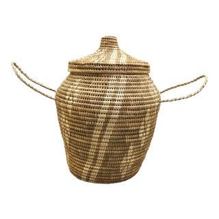 Large Woven Floor Basket