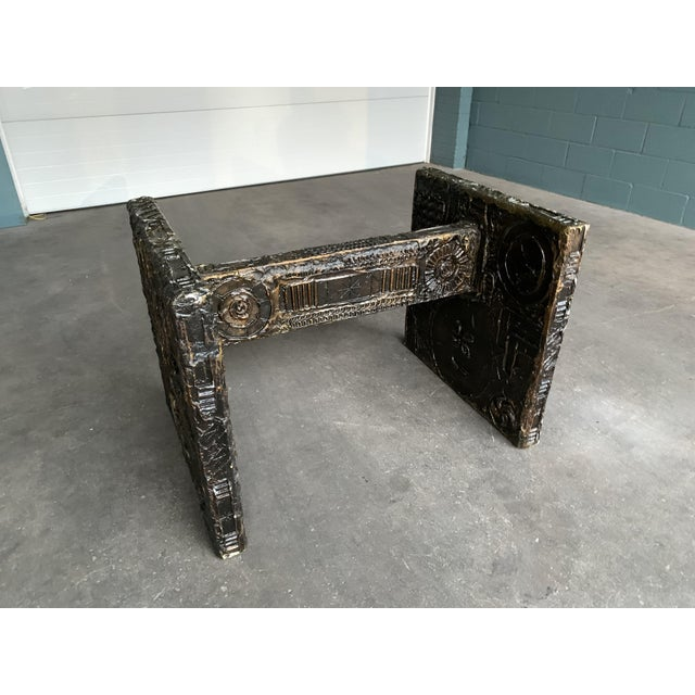 Adrian Pearsall Brutalist Dining Table For Sale - Image 12 of 12