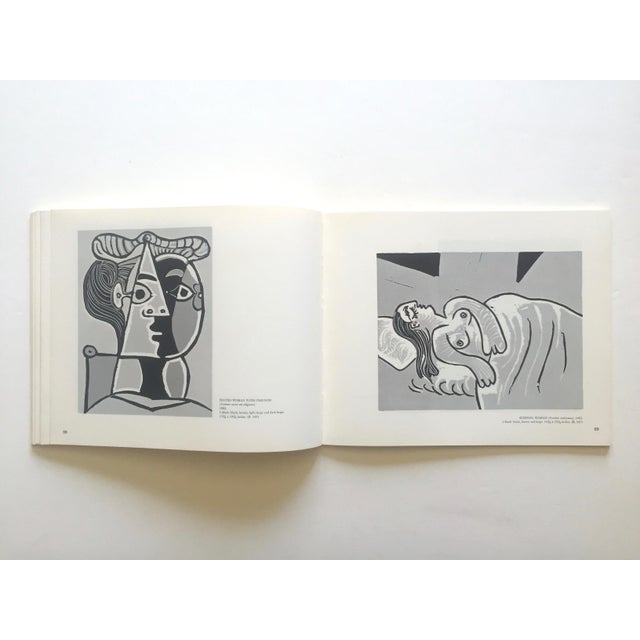 """ Picasso Linocuts 1958 - 1963 "" Rare Vintage 1968 1st Edition Lithograph Print Collector's Exhibition Art Book For Sale - Image 10 of 13"