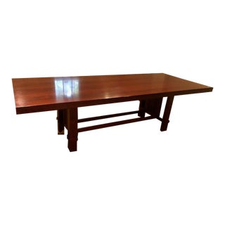 Herman Miller Frank Lloyd Wright Taliesin Dinning Table For Sale