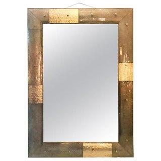 Vanità Italian Murano Glass Mirror For Sale