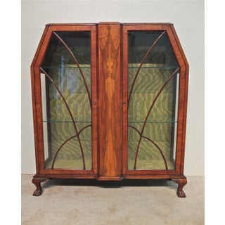 Art Deco Display Cabinet or Vitrine Preview