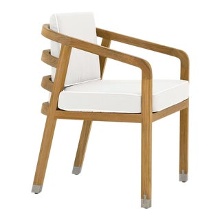 Summit Furniture Linley Dining Arm Chair For Sale