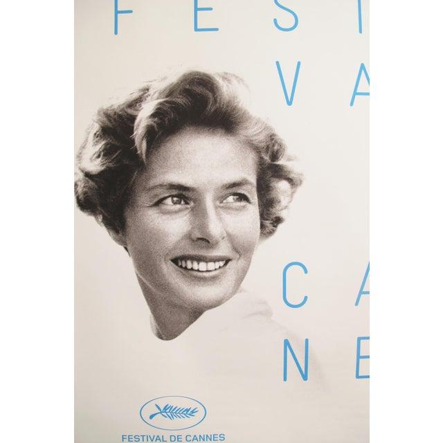 Original Cannes Film Festival Poster 2015, Ingrid Bergman - Image 3 of 4