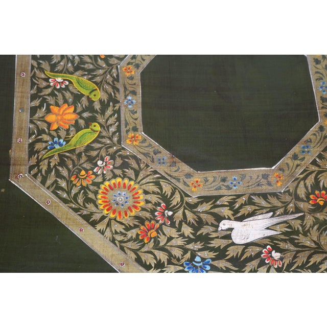 Asian Painted Wooden Coffee Table For Sale - Image 4 of 6