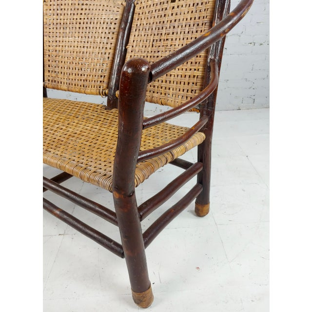 Antique 1920s Bentwood Settee and Chairs -Salon - Set of 3 For Sale - Image 10 of 12