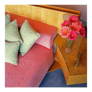 Contemporary '50s Interior' Fine Art Photographic Print by Artist Clive Frost - 48x48 For Sale