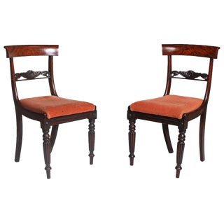 1820s Faux Bois Regency Chairs