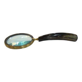 Buffalo Horn Magnifying Glass For Sale