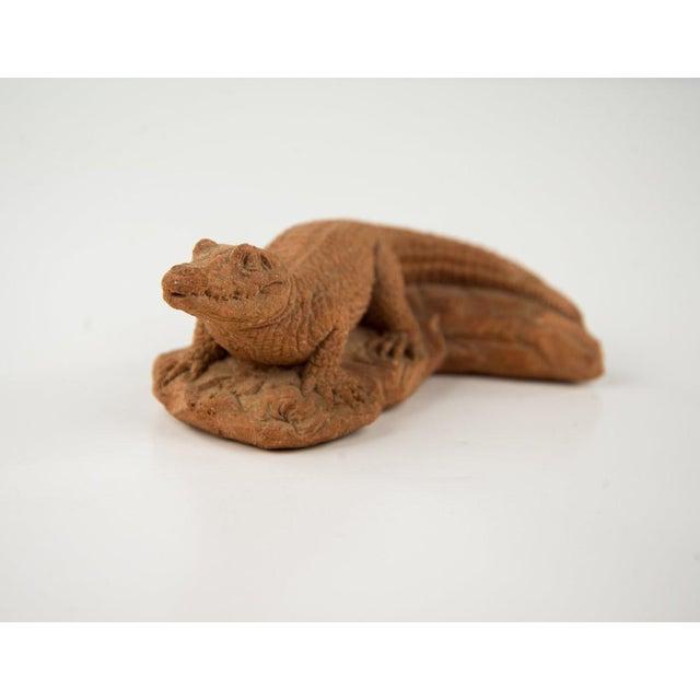 Frostino Gianelli Plaster Crocodile Sculpture For Sale In Atlanta - Image 6 of 6