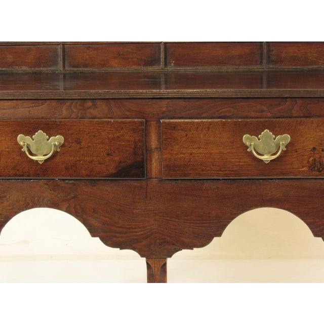 Brown 18th Century Vintage Welsh Elm Sideboard For Sale - Image 8 of 12