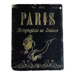 1900s French Souvenir Photo Booklet