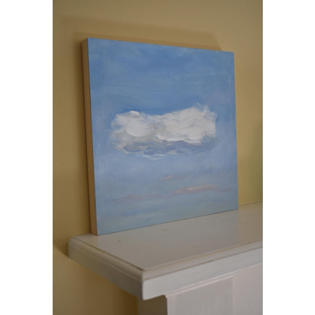 Cloud Study 'Float' Contemporary Painting by Stephen Remick For Sale In Providence - Image 6 of 8