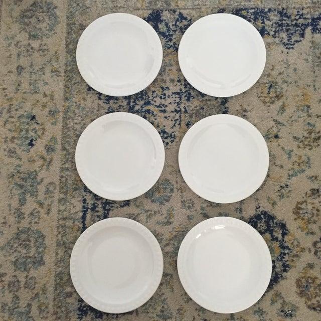 Vintage Corning Pyroceram Tableware White Dessert Plates - Set of 6 - Image 2 of 11