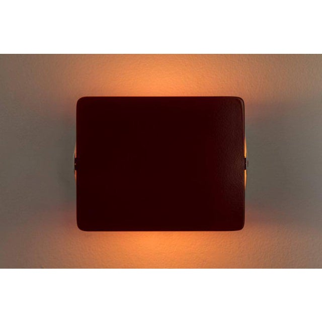 Metal Charlotte Perriand Red Cp1 Wall Light For Sale - Image 7 of 7