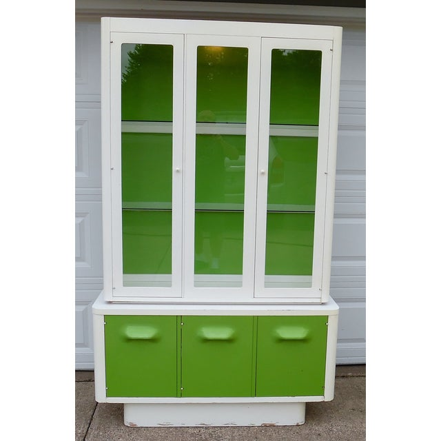 1970s Mod Pop China Cabinet - Image 4 of 11