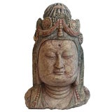 Image of Vintage Quan Yin Bust For Sale