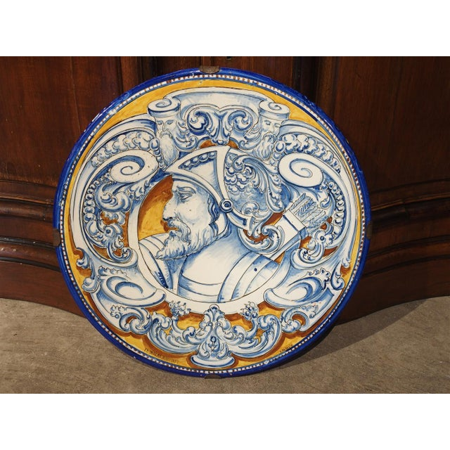 Antique Renaissance Style Platter from Spain For Sale - Image 10 of 10