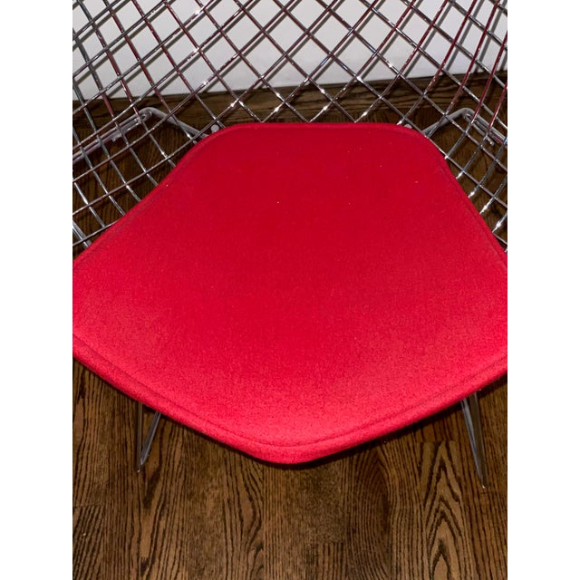 2010s Bertoia Diamond Lounge Chair Designed by Harry Bertoia for Knoll® For Sale - Image 5 of 6