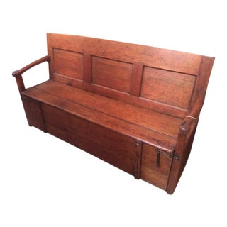 Late 19th Century French Lilo Bench For Sale
