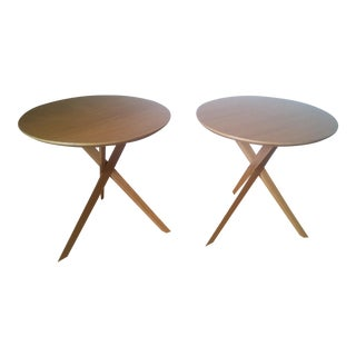 Mid-Century Modern Side Tables - A Pair