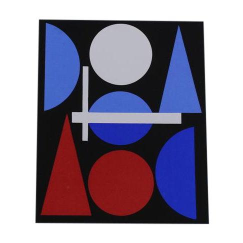 Auguste Herbin Modern Serigraph For Sale