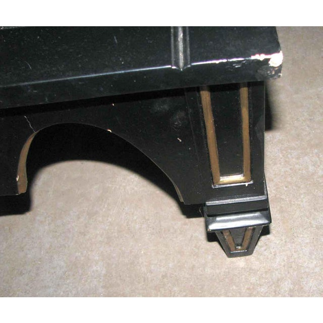 Ebonized Gothic Style End Table For Sale - Image 4 of 10