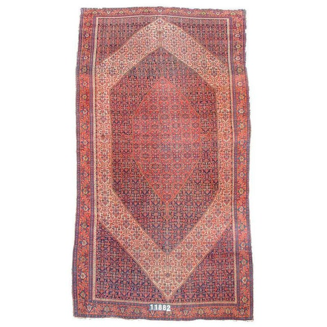 Maintaining the same elegance and quality that defines smaller Senneh rugs, this grand oversized Senneh corridor carpet...