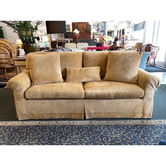 Belmar Studio Custom Roll-Arm Sofa For Sale - Image 13 of 13