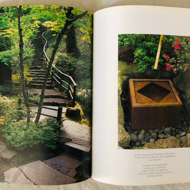 """1990s 1999 """"Japanese Style Gardens of the Pacific West Coast"""" Rizzoli Garden & Design Book For Sale - Image 5 of 8"""