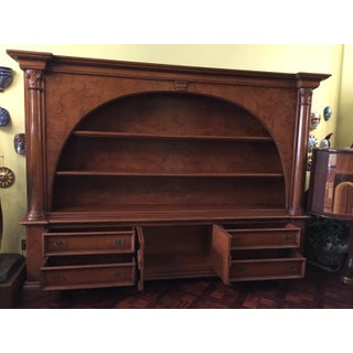 Vintage ABC Carpet & Home Italian Wood Bookcase and Sideboard Preview