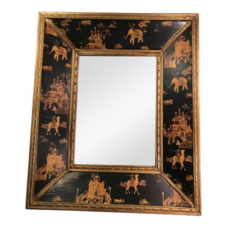 Asian Inspired Elephant Mirror For Sale