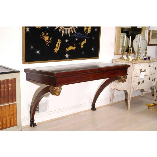 Black Italian Console Table For Sale - Image 8 of 10