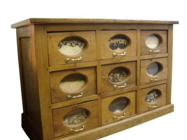 Antique French Apothecary Cabinet   Image 2 Of 4