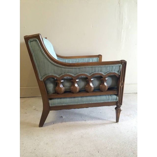 Mid-Century Hollywood Regency Style Arm Chair - Image 2 of 6